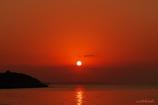 Sunset at fuchaku beach
