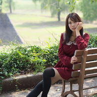 SONY DSLR-A700で撮影した人物(比嘉渚さん (1))の写真(画像)