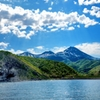 知床クルーズ   海より望む断崖と羅臼岳たち