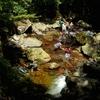 夏の思い出 渓流遊び