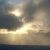 王ヶ頭の朝日