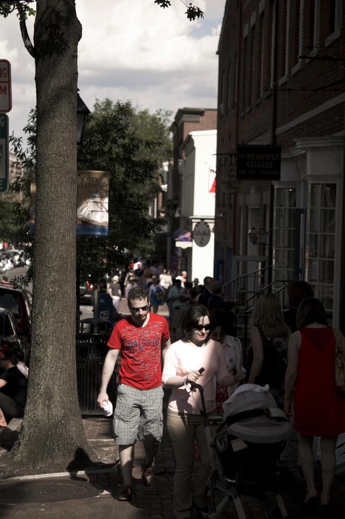 Memorial Weekend in Old Town