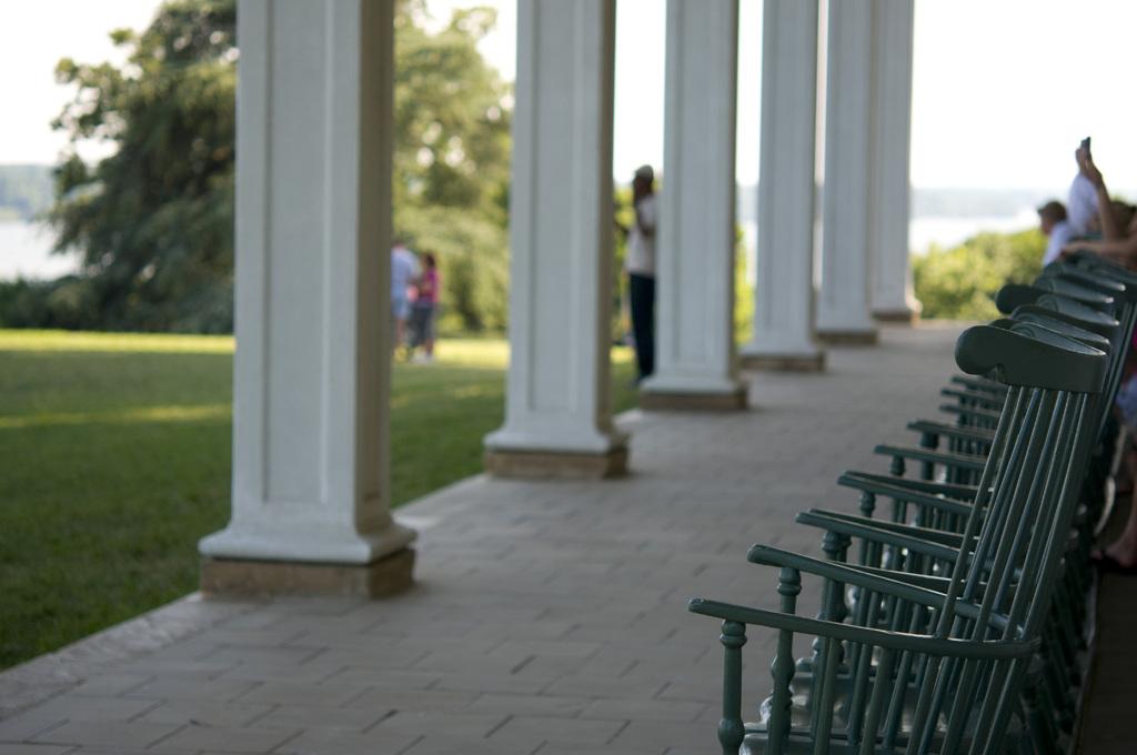 ジョージ・ワシントンは座らなかった椅子