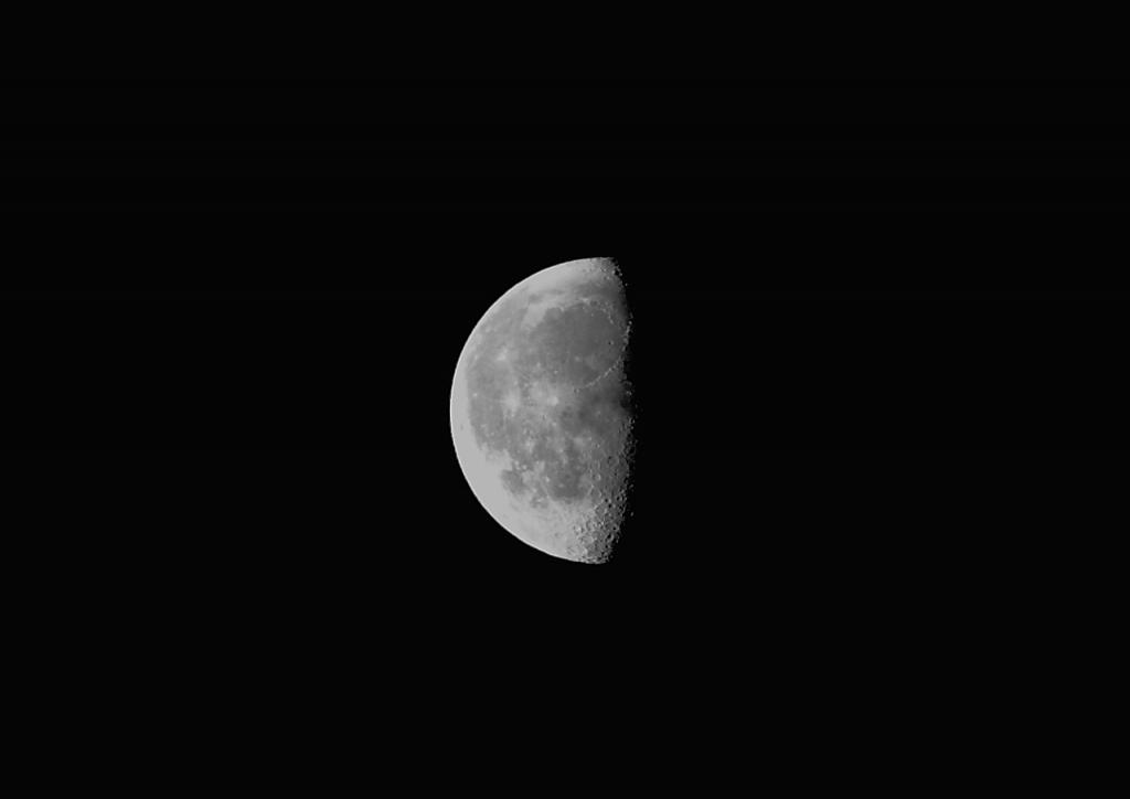 2月28日「朝」の月