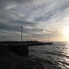 洲崎の夕陽