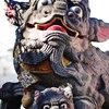 中国の狛犬?