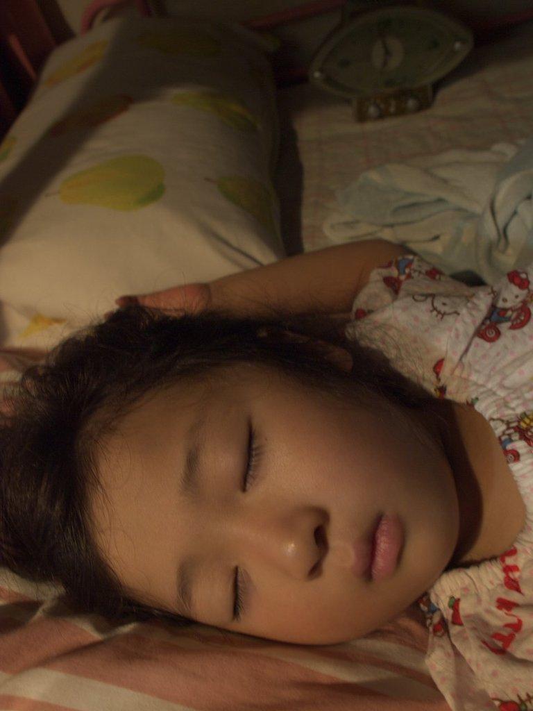 まだ寝てる