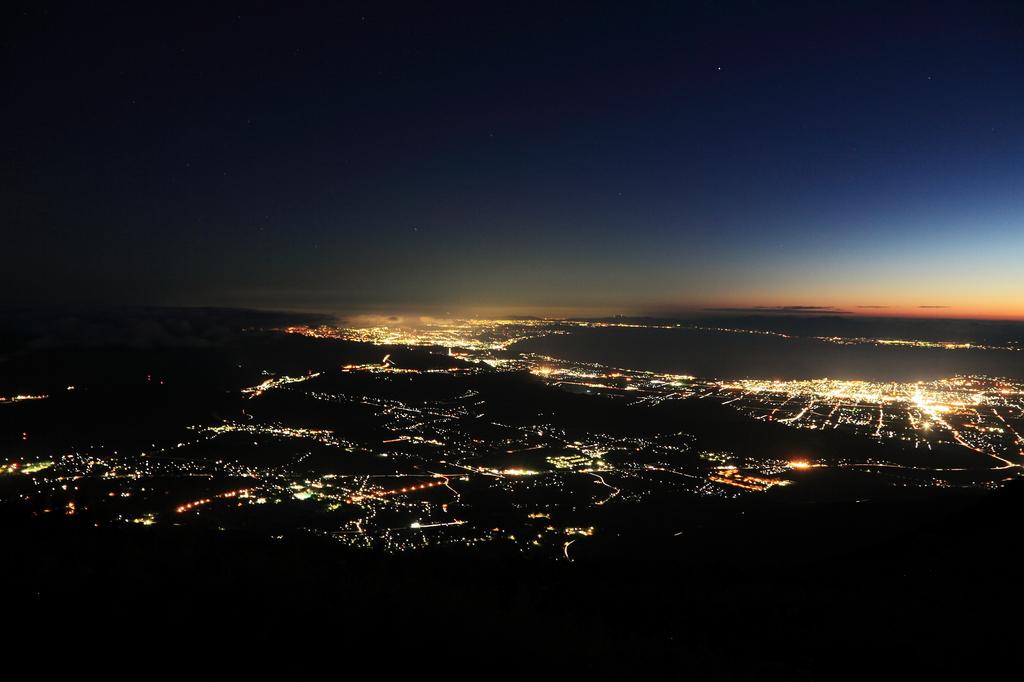 伊吹山の夜景