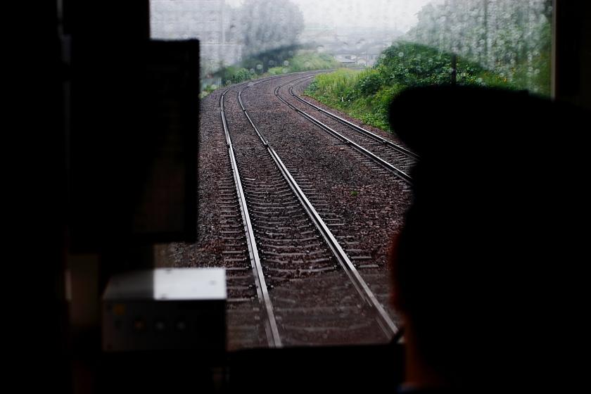 rainy train