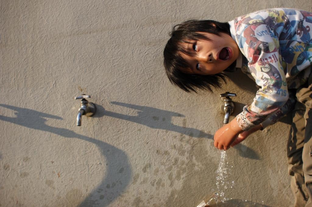 アホアホ手洗い