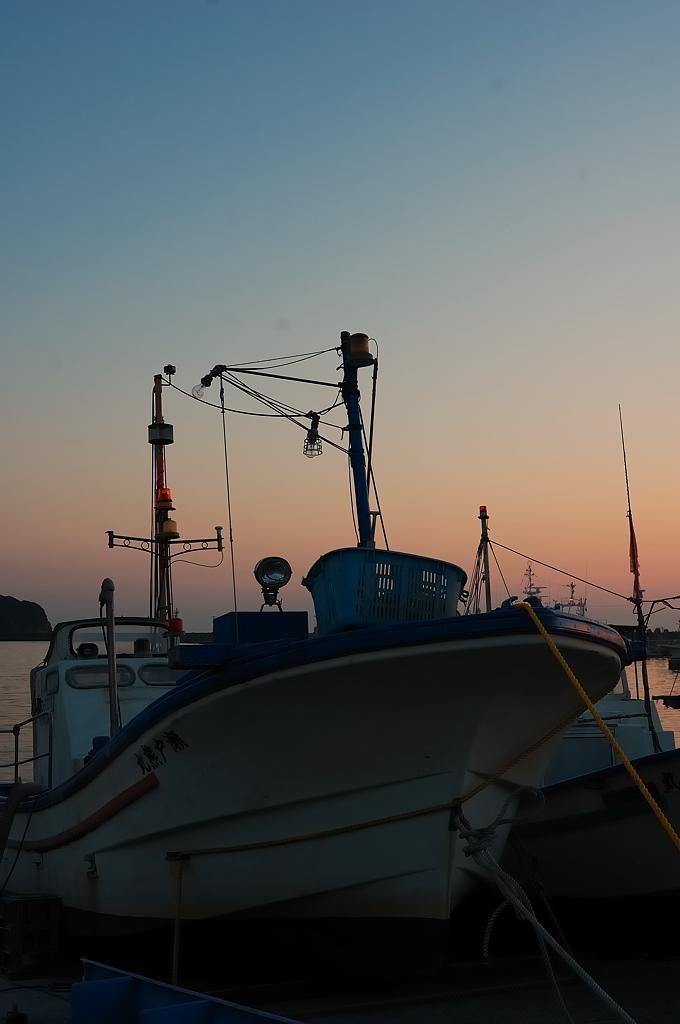 勝浦の漁港