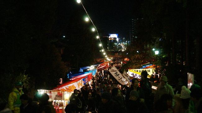 仙台どんと祭(東照宮)
