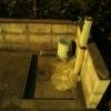 水道の夕方
