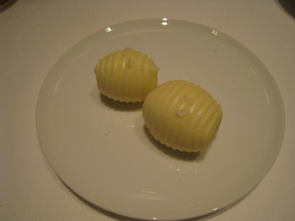 某レストランのバター
