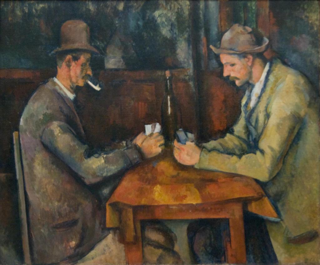 カード遊びをする人々 / セザンヌ
