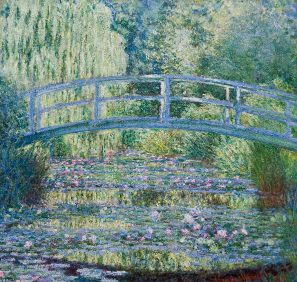 睡蓮の池、緑の調和 / モネ