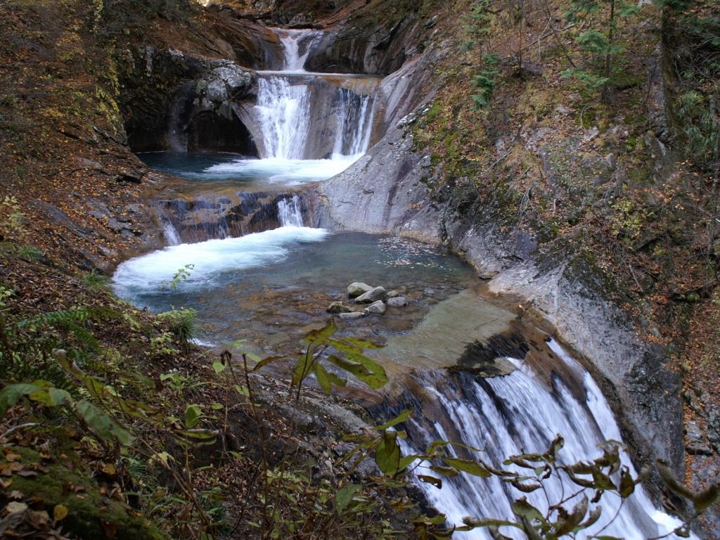 西沢渓谷・7つ釜5段の滝