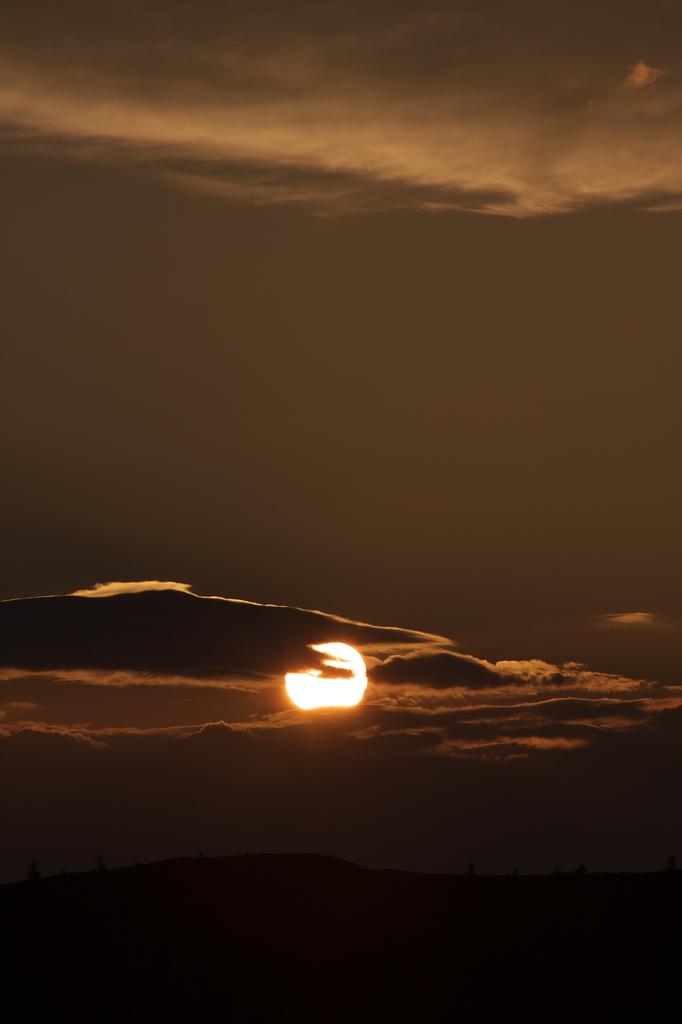 美ヶ原の日の出