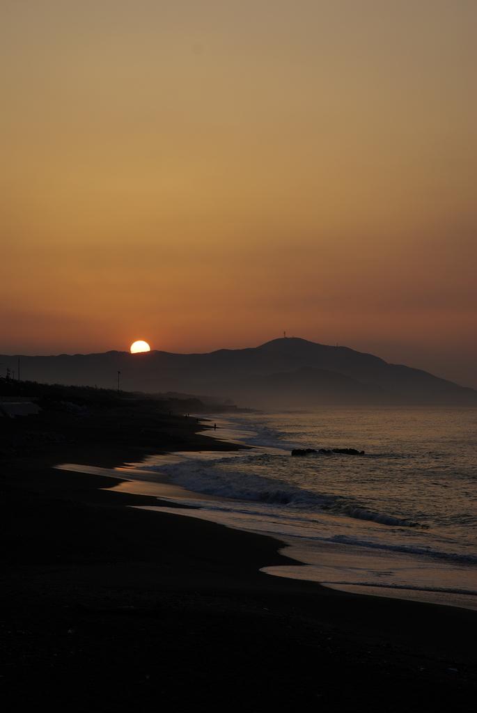 恋路ヶ浜の日の出
