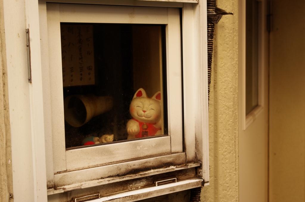 ゴールデン街の招き猫その2