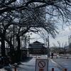 今は亡き駅舎最後の冬