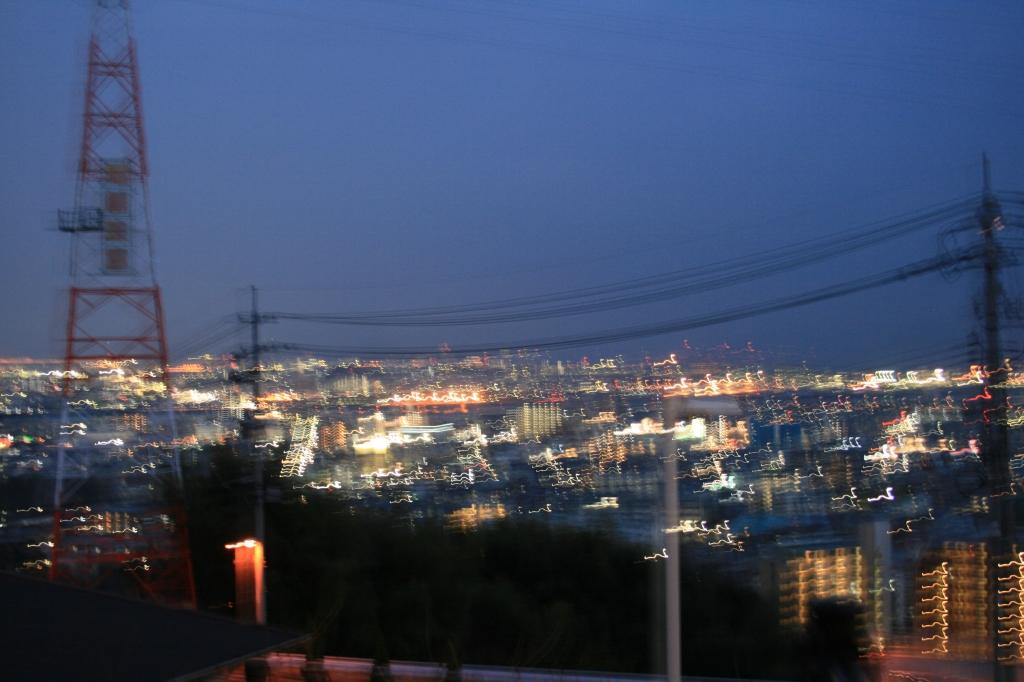 初 夜景撮影