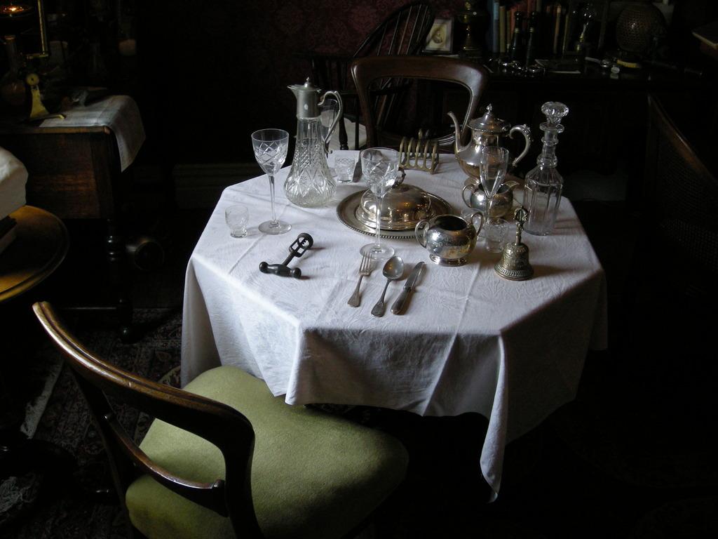 異人館の食卓