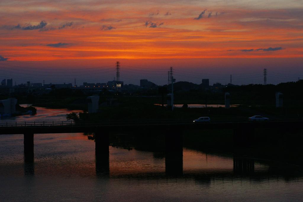 内間木橋/荒川、朝霞水門(2)
