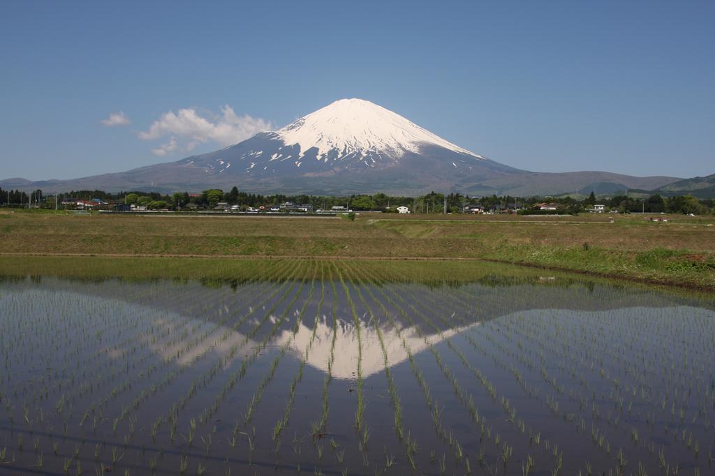 さかさ富士