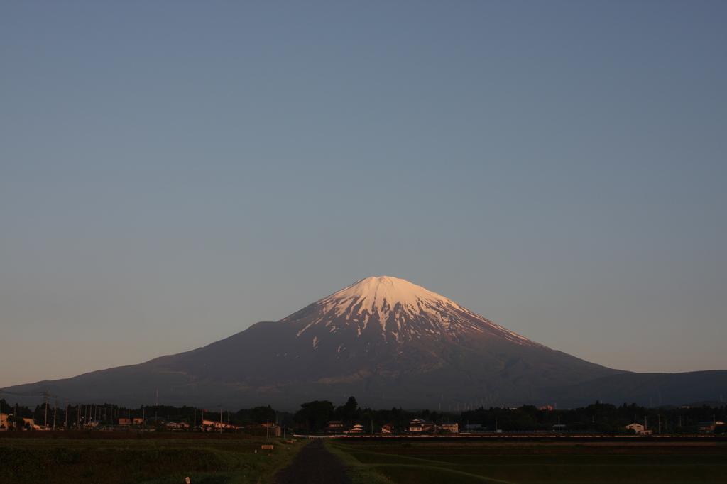 明け方の富士