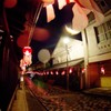 柳井市、金魚ちょうちんまつり