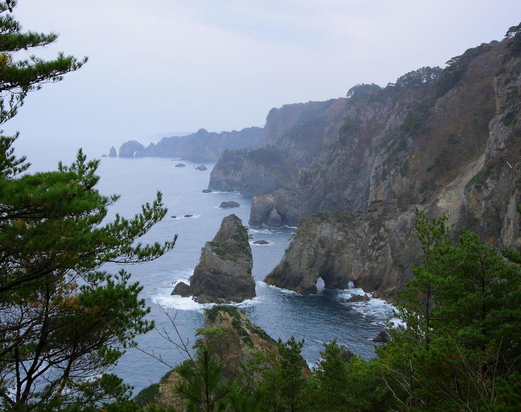 北山崎の風景