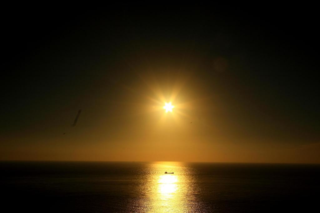 落日の始まり