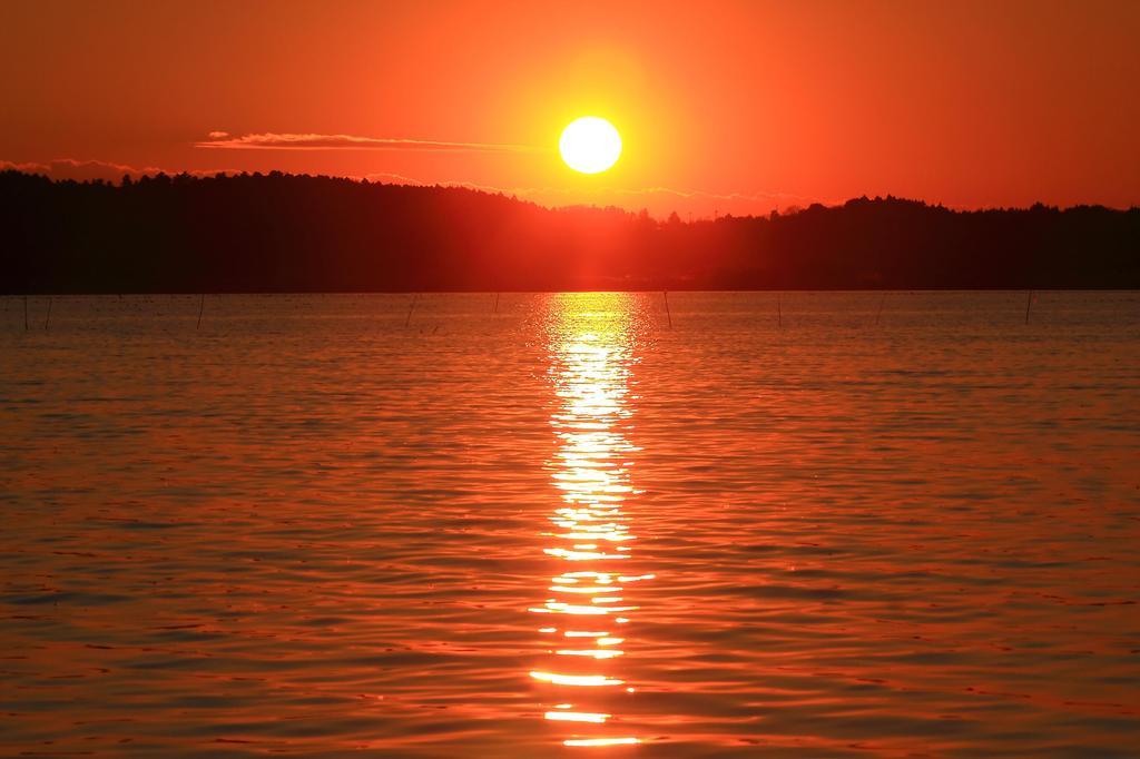 情熱の夕日