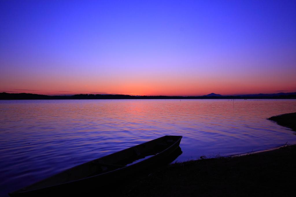 静寂の日没