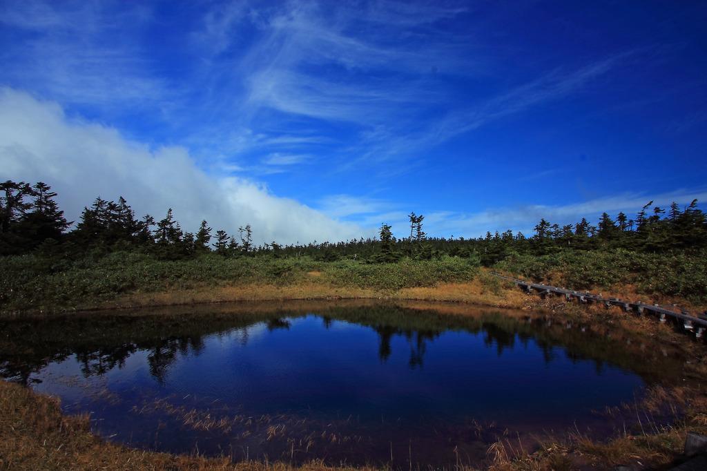 八幡平の沼