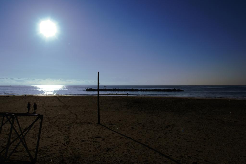 ある朝の海