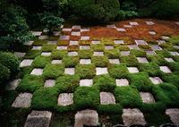 CONTAX G2で撮影したインテリア・オブジェクト(京都・庭園・規則性)の写真(画像)