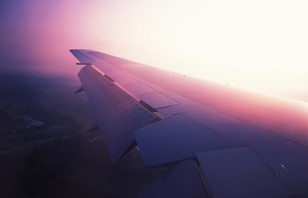 雲中への飛行