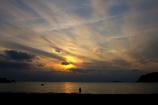 影絵小屋・逗子海岸(本日撮影です。)