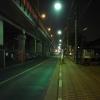 夜の中央高速側道
