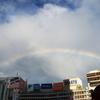 新宿上空の虹