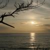 片野の夕日