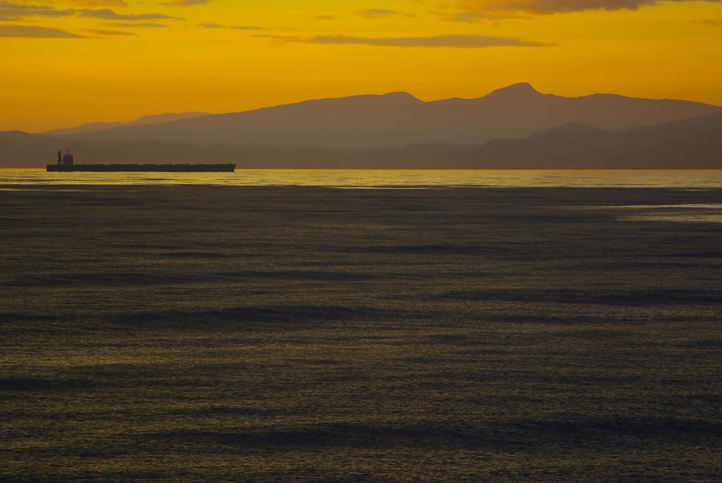 室蘭港の夕暮れ2