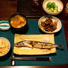 ある日の夕食(秋味)