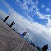2人の大桟橋