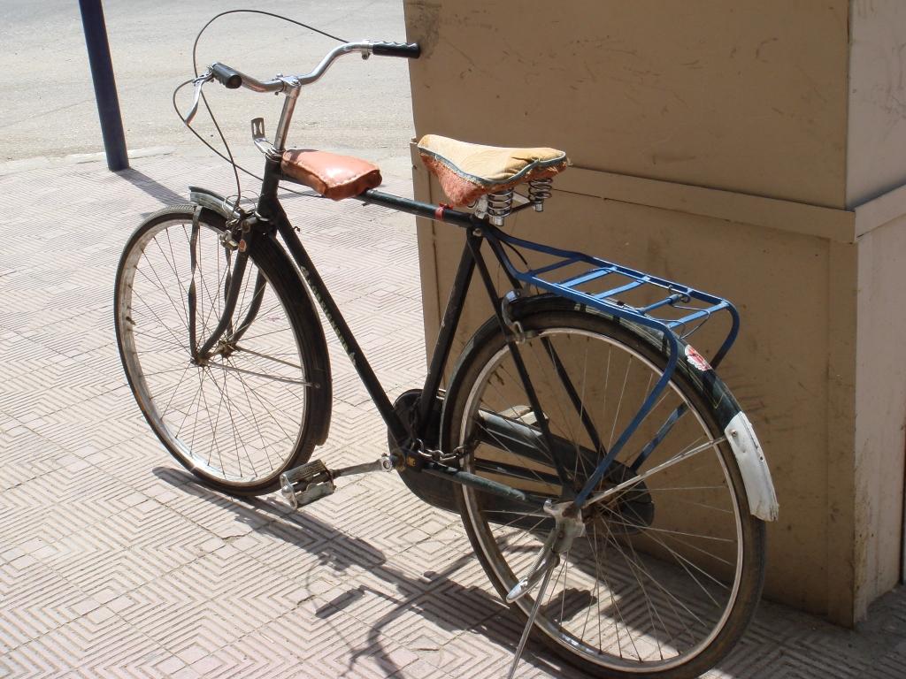 エジプトの自転車