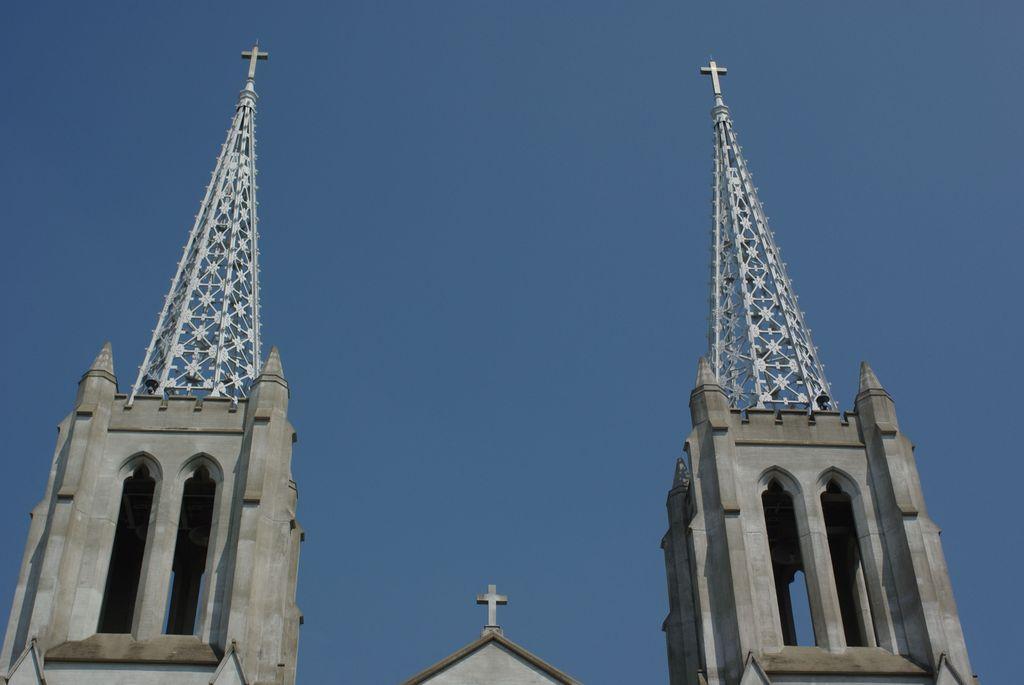 布池教会の塔