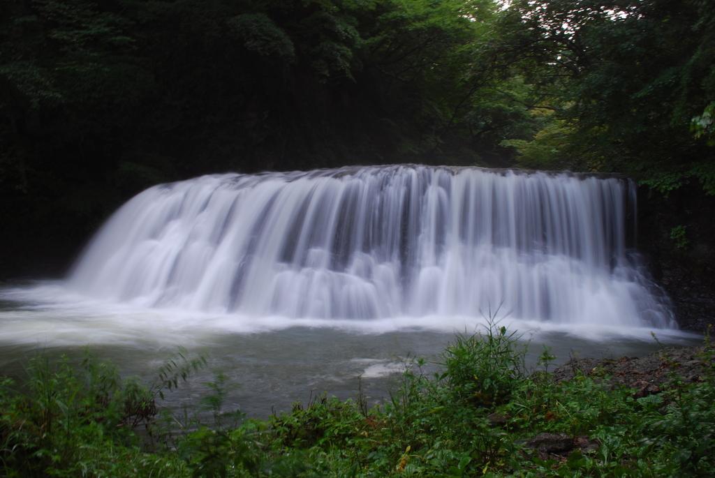 初めての滝