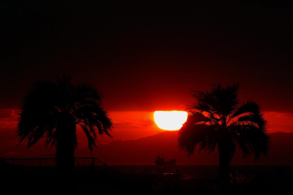 SunsetⅢ「天空の壁」